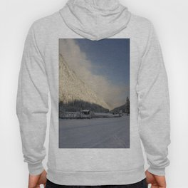 A Peaceful Snow Landsscape Hoody