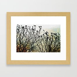 Fragile Foliage Framed Art Print