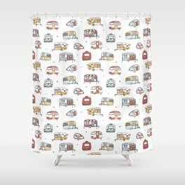 Campers Shower Curtain
