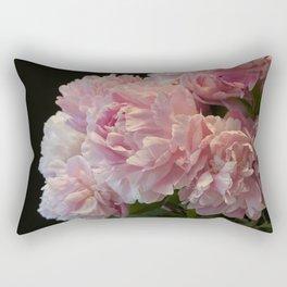 Pink Peony Passion Rectangular Pillow