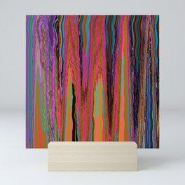 Neon Sediment Mini Art Print