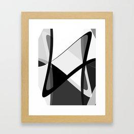 Infinity Waves Framed Art Print