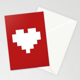 Valentine's Day Pattern Stationery Cards