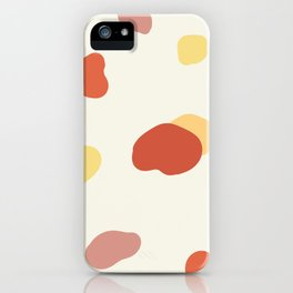 If a Sunset Melted Into Puddles iPhone Case