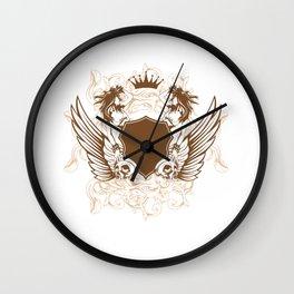 Sheild Wall Clock
