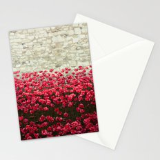 Tower Poppies 04A Stationery Cards
