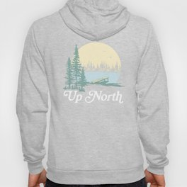 Up North Lake, Blue Spruce Hoody