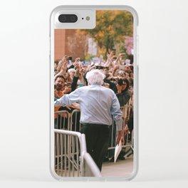 Bernie in L.A. Clear iPhone Case