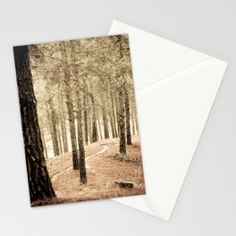 Forest BW 02 Stationery Cards