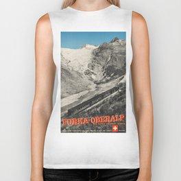 Vintage poster - Switzerland Biker Tank