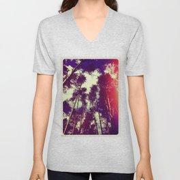 There is a pleasure in the pathless woods... Unisex V-Neck
