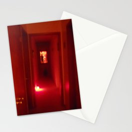 Hallway to hell Stationery Cards