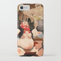 vikings iPhone & iPod Cases featuring Vikings by Dronio
