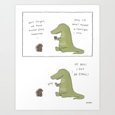 Email Art Print
