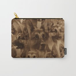 German Shepherd Dog collage Carry-All Pouch