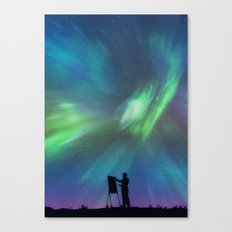 Borealis Painter Canvas Print
