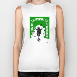 Say NO to Animal Performance - Bear Biker Tank