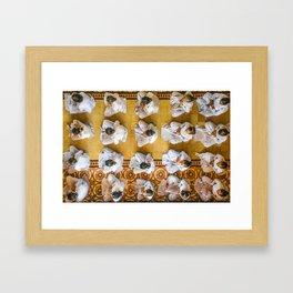 Cao Dai Lotus Framed Art Print