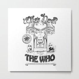 The Who Metal Print