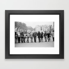Pompidu Framed Art Print
