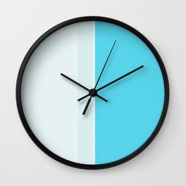 color Block 14 Wall Clock