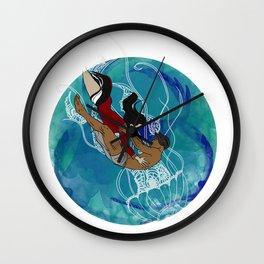Dhon Hiyala aai Alifulhu Wall Clock
