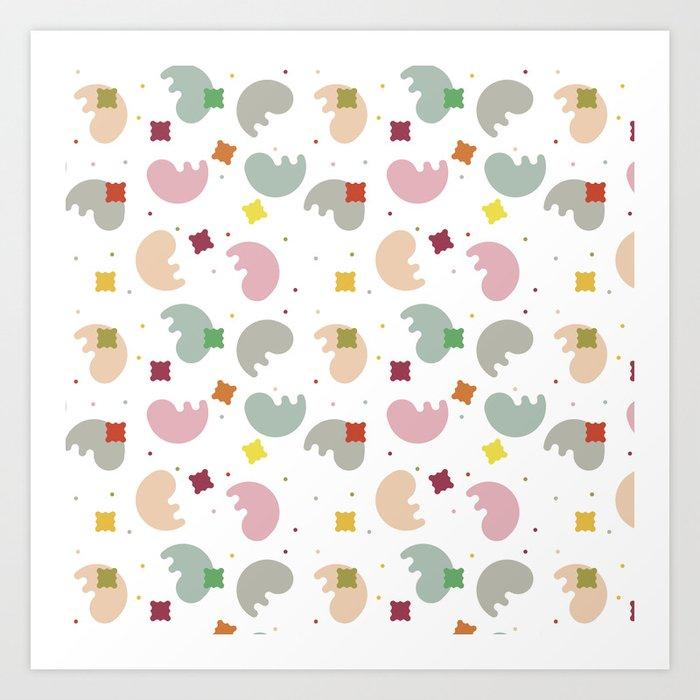 Pattern Flx·01 Art Print