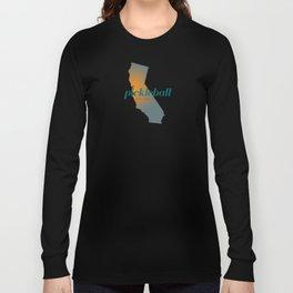 Pickleball Bay Area California Long Sleeve T-shirt