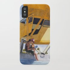 Caribbean Charter iPhone X Slim Case