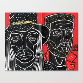 BYR Canvas Print