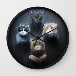 Bohemian Catsody Wall Clock