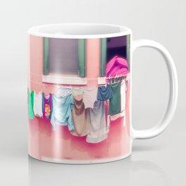Laundry Venice Italy Travel Photography Coffee Mug