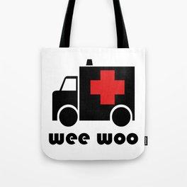 Ambulance Wee Woo Tote Bag