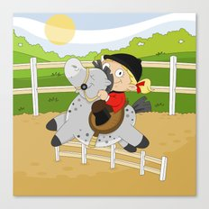 Olympic Sports: Equestrian Canvas Print