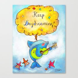 Keep Daydreaming : Print 02/05  Canvas Print