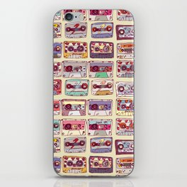 Nobody's records iPhone Skin
