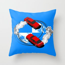 German Twins Throw Pillow