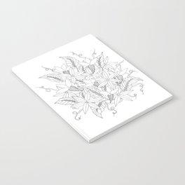 Floral #4 Notebook