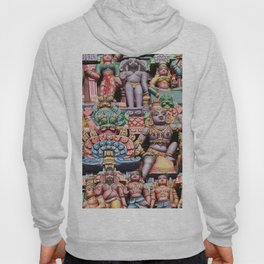 India Hinduism multicolored Temple Design Hoody