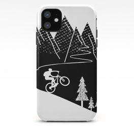 mountain bike MTB cycling mountain biker cycling bicycle cyclist gift iPhone Case