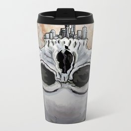 skull-attle Metal Travel Mug