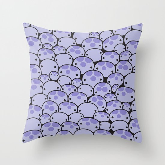 Octo Attack Throw Pillow