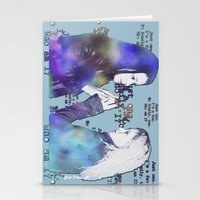 orphan black Stationery Cards featuring Orphan Black, Who Am I? by Your Friend Elle