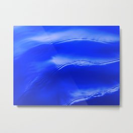 Ocean Decor, Home & Accessories, Waves, Blue, Art Prints, Wall Art Metal Print