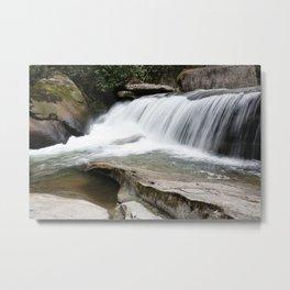 WNC Waterfall Metal Print