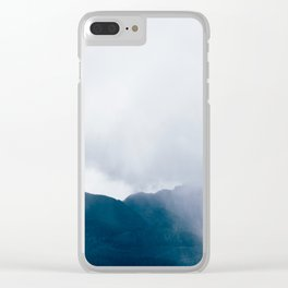 wandering the mist Clear iPhone Case