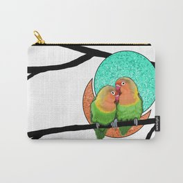 Lovebirds Carry-All Pouch