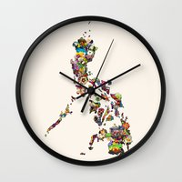 philippines Wall Clocks featuring 7,107 Islands | A Map of the Philippines by QUEQZZ