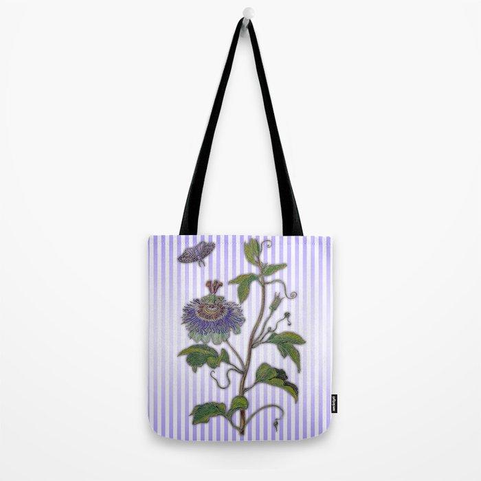 Merian: Passiflora Tote Bag
