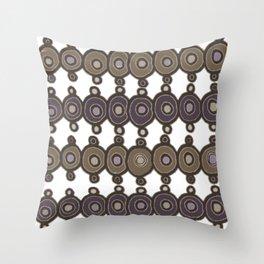 Little Circles Throw Pillow